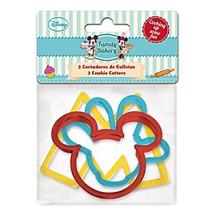 Mickey and Minnie Mouse Cookie Cutters, Set of 3 - Minnie Mouse Gifts