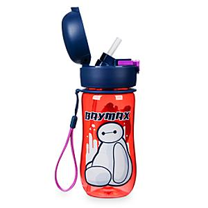 Baymax Flip Top Water Bottle, Big Hero 6 - Baymax Gifts