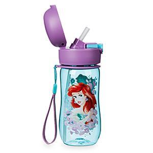 The Little Mermaid Flip Top Water Bottle - Little Mermaid Gifts