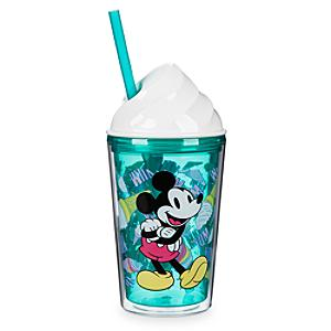 Mickey and Minnie Ice Cream Cup with Straw - Ice Cream Gifts