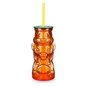 Bicchiere con cannuccia Il Re Leone Disney Store