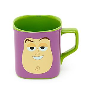 Buzz Lightyear Face Square Mug - Buzz Lightyear Gifts