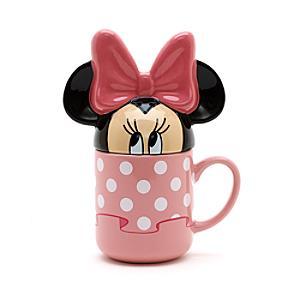 Taza con tapa Minnie Mouse