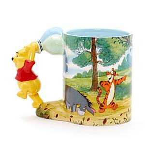 Winnie the Pooh Sculpted Handle Mug - Winnie The Pooh Gifts