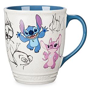 Stitch and Angel Animated Mug - Angel Gifts