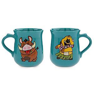 Set tazas Timón y Pumba, Dynamic Duos, Disney Store