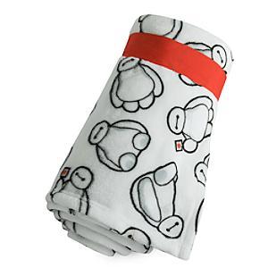 Baymax Fleece Throw Blanket - Baymax Gifts