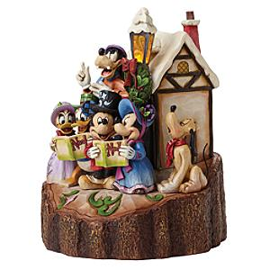 Disney Traditions Mickey and Friends Harmony Light-Up Figurine - Figurine Gifts
