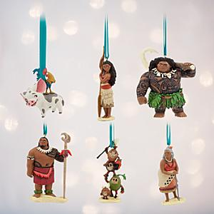 Moana Ornaments, Set of 6 - Ornaments Gifts