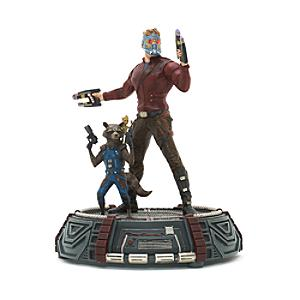 Star-Lord, Rocket and Groot Limited Edition Figurine, Guardians of the Galaxy Vol. 2 - Figurine Gifts