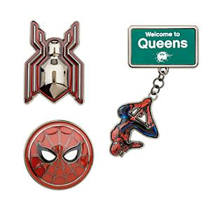 Spider-Man Homecoming Limited Edition Pins, Set of 3 - Marvel Gifts