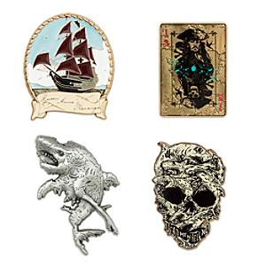 Pirates of the Caribbean: Salazar's Revenge Limited Edition-pins, set om 4