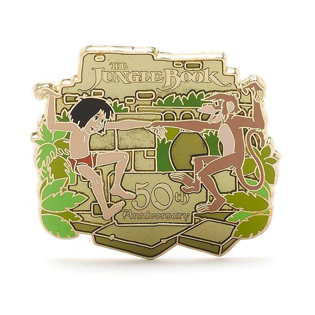 Pin's édition limitée, 50eanniversaire du Livre de la Jungle