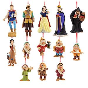 Art of Snow White Limited Edition Hanging Ornaments, Set of 13 - Ornaments Gifts