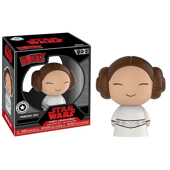 Figurine Dorbz Princesse Leia en vinyle par Funko