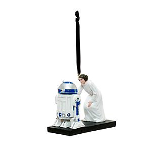 Decorazione natalizia Principessa Leila e R2-D2