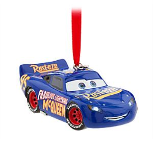 Fabulous Lightning McQueen Light-Up Hanging Ornament - Ornament Gifts