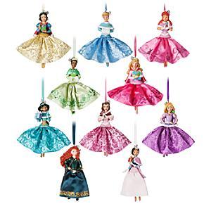 Lot de décorations Disney Princesses