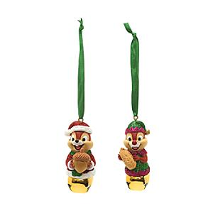 Chip 'n' Dale Festive Hanging Ornaments, Set of 2 - Ornaments Gifts