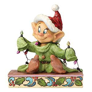 Dopey Light up the Holidays Figurine - Figurine Gifts