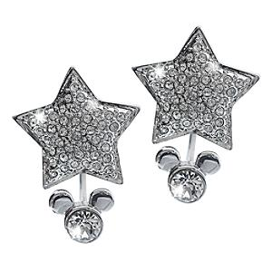 Disneyland Paris 25th Anniversary Star Earrings - Silver Wedding Anniversary Gifts