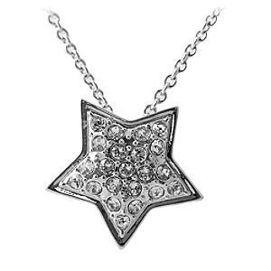 Disneyland Paris 25th Anniversary Star Necklace - Silver Wedding Anniversary Gifts