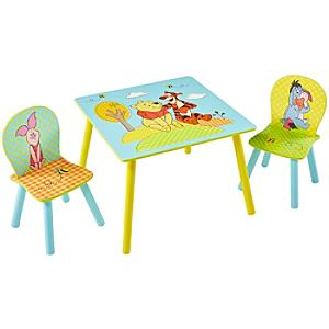 Winnie the Pooh Table and Chairs Set - Winnie The Pooh Gifts