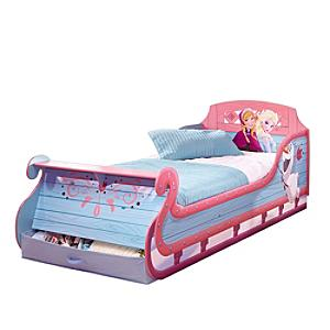 Frozen Sleigh Single Bed - Frozen Gifts