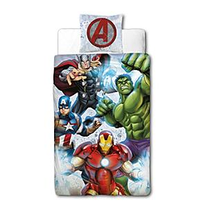Marvel Avengers Reversible Single Duvet Cover Set - Marvel Gifts