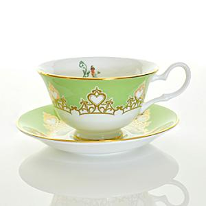 English Ladies Co. Bone China Tiana Tea Cup and Saucer - China Gifts