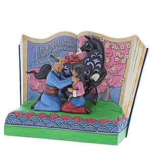 Disney Traditions Storybook Mulan Figurine - Figurine Gifts