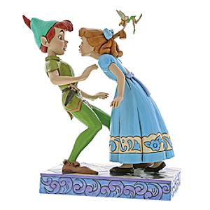 Disney Traditions Peter & Wendy 65th Anniversary Figurine - Anniversary Gifts