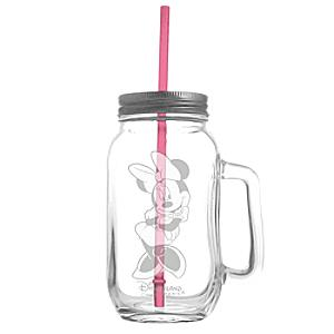 Minnie Mouse Mug With Straw by Arribas Brothers - Minnie Mouse Gifts