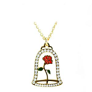 Enchanted Rose Necklace, Beauty and the Beast - Beauty And The Beast Gifts