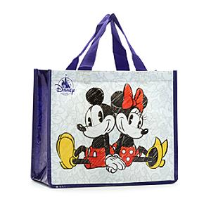 Mickey and Minnie Mouse Reusable Shopper Bag, Petite - Minnie Mouse Gifts