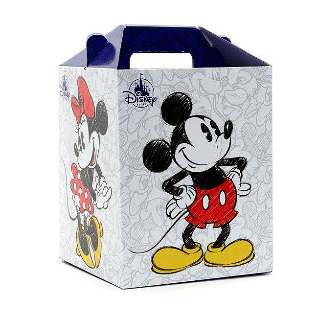 Disney Store Micky und Minnie Maus Geschenkbox, mittel