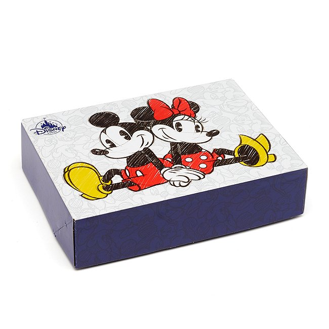 Image of Disney Store Scatola regalo piccola Topolino e Minni