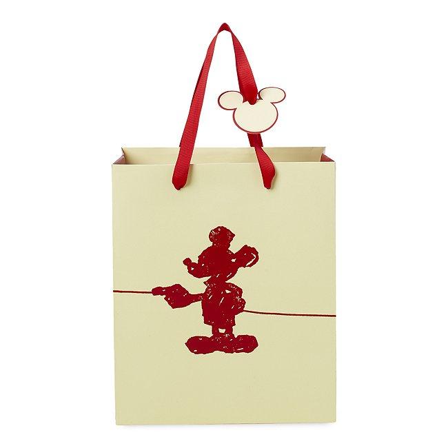 Image of Borsa regalo piccola deluxe Topolino Disney Store
