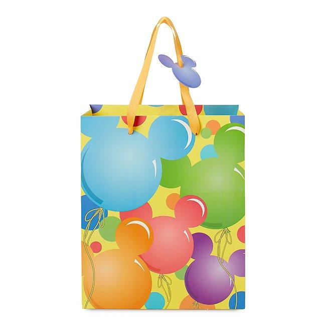 Image of Borsa regalo piccola palloncini Topolino Disney Store