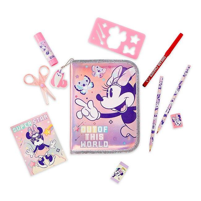 Disney Store kit de fournitures minnie mystique zippé