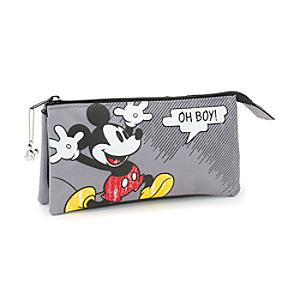 Mickey Mouse Comic 3 Pocket Pencil Case - Pencil Case Gifts