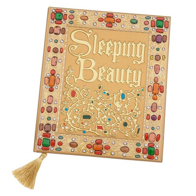 Disney Store journal a4la belle au bois dormant