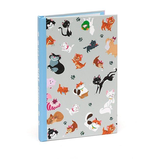 Set cuaderno y notas adhesivas gatos Disney, Disney Store