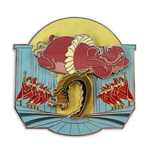 Disney Store Fantasia Hyacinth Hippo and Alligators Pin