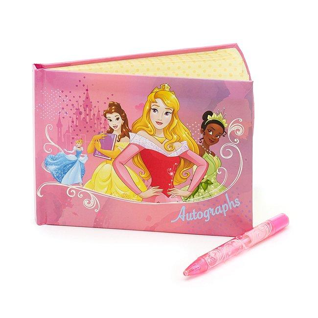 Image of Album e penna per autografi Principesse Disney