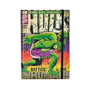 Hulk Comic Cover A5 Notebook, Marvel - Marvel Gifts