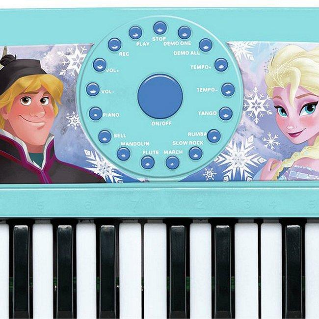 Clavier Électronique la reine des neiges