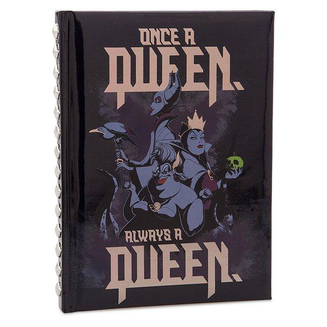 Disney Store cahier disney villains