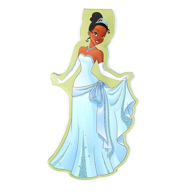 Disney Store cahier silhouette de tiana, la princesse et la grenouille