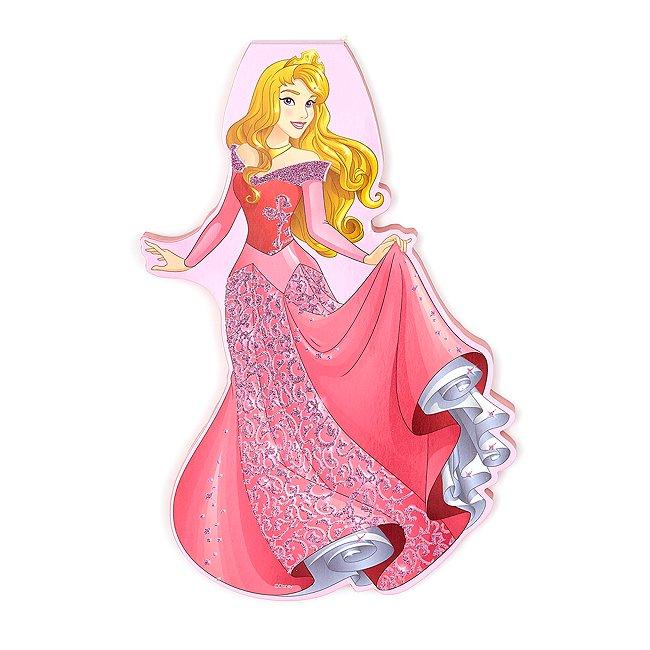 Disney Store cahier silhouette d'aurore, la belle au bois dormant